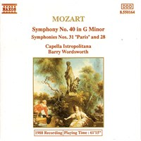 Mozart - Symphonies Nos.40,28&31 Cd