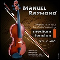 Keman Teli Takım Manuel Raymond Mrvs