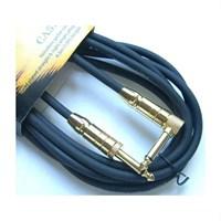 Cort Ca528 Bk Gitar Kablo Gürültüsüz 5 Metre