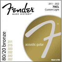Fender 70Cl Akustik Gitar Teli 0730070405