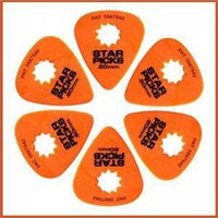 Star Picks Delrin Pack Orange - 0,60 Mm