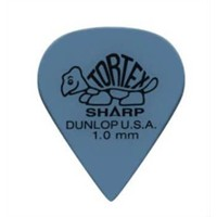 Jim Dunlop Tortex Sharp Mavi 1.0 Mm Pena