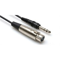 Stx115F Hosa 1/4'' Trs-Xlr (F) Balanslı Kablo