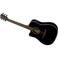 Lag Gla Tl100Dce-Blk Solak Elektro Akustik Gitar