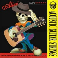 Alice Akustik Gitar Teli Super Light A206-Sl