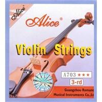 Alice A703 3-Nd Tek Keman Teli (Re)