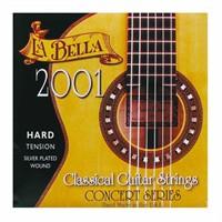 La Bella 2001-Hard Tension Klasik Gitar Teli
