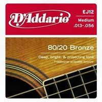 Daddario Ej12 Akustik Tel Set Medium (0.13)