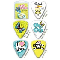 Grover Allman Rock Chick Pack 2 Pena (0.80Mm