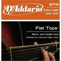 Daddario Ft15 Akustik Gitar Teli (010)