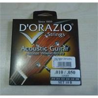 Dorazio 10/B Akustik Gitar Teli Bronze Wound