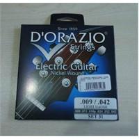 Dorazio 31 Elektro Gitar Teli İtalyan 09-042