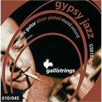 Akustik Gitar Teli Gsb-10 Galli Jazz Silver