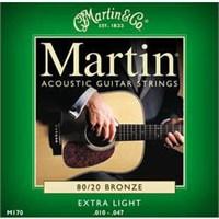 Martin M170X Akustik Gitar Teli 80/20 B