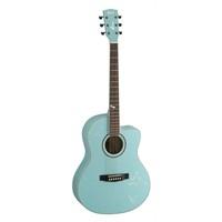 Cort Jade2-Pbm Akustik Gitar Açık Mavi
