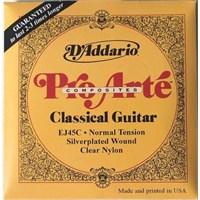 Daddario Ej45C Klasik Gitar Tel Seti