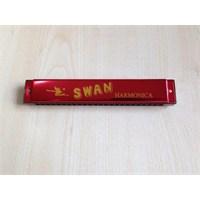 Mızıka 20 Delikli Swan Sw20-Rd Kırmızı