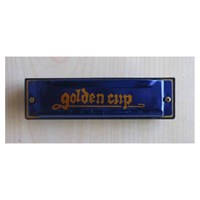 Mızıka 10 Delikli Golden Cup Jh1020-1Bl Mavi
