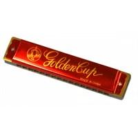 Mızıka 16 Delik Golden Cup Jh016-1Rd Kırmızı
