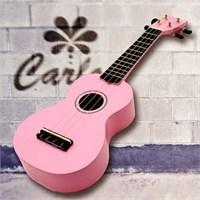Carlos Cru50-Pnk Pembe Soprano Ukulele