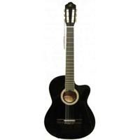 Barcelona Lc 3900 Ceq Bk Elektro Klasik Gitar