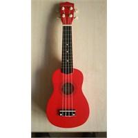 Ukulele Gonzales Kırmızı Xu21-3 Rds