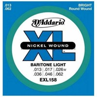 Daddario Exl158 Baritone Light (13-62)