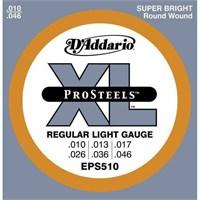 Daddario Eps510 - Regular Light Takım Tel