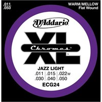 Daddario Ecg24 - Jazz Light Takım Tel 0.11