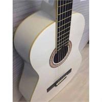 Barcelona Lc 3900 Wh Beyaz Klasik Gitar
