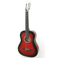 Cremonia Ac851R-Rb Klasik Gitar Gül Klavye Kırmızı