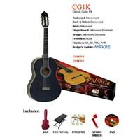 Valencia Cg1Kbk Klasik Gitar Seti+Kılıf