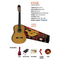 Valencia Cg1Kna Klasik Gitar Seti+Kılıf