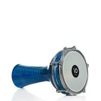 Darbuka Vd-144M Alüminyum Çatlak Boyalı Mavi