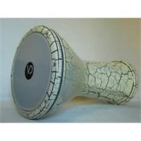 Bas Darbuka Beyaz Çatlak Boya Vd-153 Vatan
