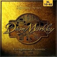 Dean Markley Vintagebronze Acoustic - Xl Akustik Gitar Telleri