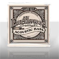 Ernie Ball PO2070 Earthwood Phosphor Bronze 045-095 Akustik Bass Gitar Tel Seti