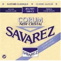 Savarez 500CJ Cristal Corum Blue Klasik Gitar Teli