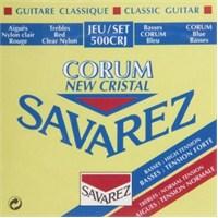 Savarez 500Crj Cristal Corum Rouge/Blue Klasik Gitar Teli
