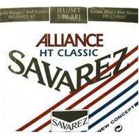 Savarez 500Arj Aalliance/Ht Classic Rouge/Blue Klasik Gitar Teli