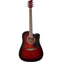 Jay Turser JTA-454-QCET-RSB Akustik Gitar