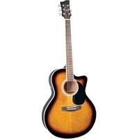 Jay Turser JTA-444-CET-TSB Akustik Gitar