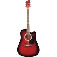 Jay Turser JJ-45-FCET-RSB Elektro Akustik Gitar