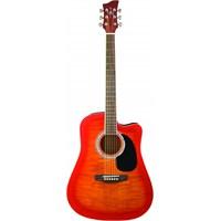 Jay Turser JJ-45-FCET-CS Elektro Akustik Gitar