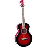 Jay Turser JTA-414Q-RSB Akustik Gitar