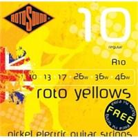 Rotosound R10 Sarı Elektro Gitar Teli