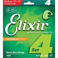 Elixir 45-105 Xlong Medium Bas Gitar Teli