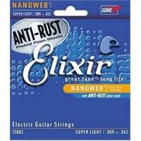 Elixir 009-042 Elektro Gitar Teli
