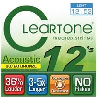 Cleartone 80/20 Bronze Light (12-53) Akustik Gitar Teli