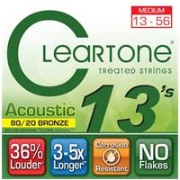Cleartone 80/20 Bronze Medium (13-56) Akustik Gitar Teli